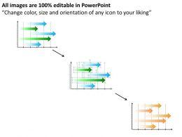 Flow Chart Business Graph Illustrating Future Plans Powerpoint Templates