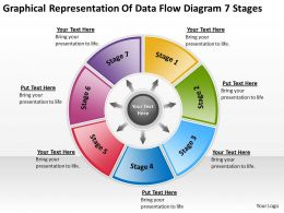 Flow Chart Business Of Data Diagram 7 Stages Powerpoint Templates PPT Backgrounds For Slides