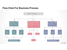 flow_chart_for_business_process_flat_powerpoint_design_slide01 - Flowchart For Business Process