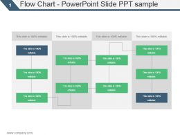 Flow Chart Powerpoint Slide Ppt Sample