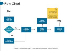 Flow Chart Ppt Infographics Influencers