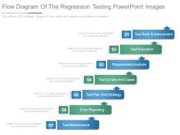 Flow Diagram Of The Regression Testing Powerpoint Images