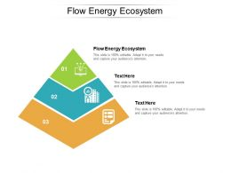 Flow Energy Ecosystem Ppt Powerpoint Presentation Model Outfit Cpb