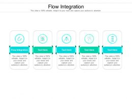 Flow Integration Ppt Powerpoint Presentation Ideas Objects Cpb