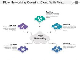 Flow Networking Covering Cloud With Five Steps