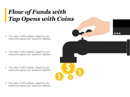 Flow Of Funds With Tap Opens With Coins