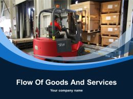 Flow Of Goods And Services Powerpoint Presentation Slides