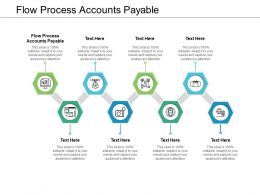 Flow Process Accounts Payable Ppt Powerpoint Presentation Professional Templates Cpb
