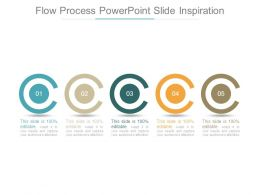 Flow Process Powerpoint Slide Inspiration