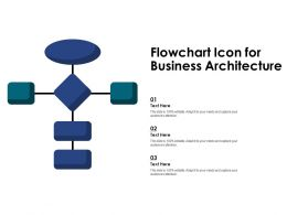 Flowchart Icon For Business Architecture