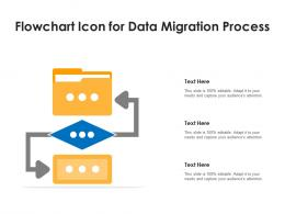 Flowchart Icon For Data Migration Process