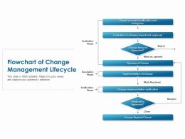 Flowchart Of Change Management Lifecycle