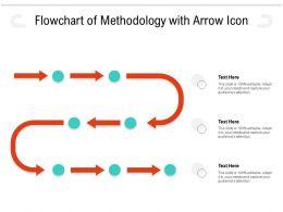 Flowchart Of Methodology With Arrow Icon