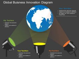 fn Global Buisness Innovation Diagram Flat Powerpoint Design