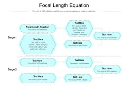 Focal Length Equation Ppt Powerpoint Presentation Pictures Layout Ideas Cpb