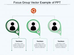 Focus Group Vector Example Of Ppt