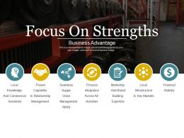 Focus On Strengths Powerpoint Topics