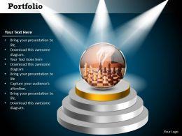 50884175 Style Essentials 1 Portfolio 1 Piece Powerpoint Presentation Diagram Infographic Slide