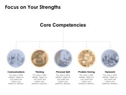 Focus On Your Strengths Ppt Powerpoint Presentation Layouts Slide