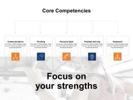 Focus On Your Strengths Problem Solving Ppt Powerpoint Presentation Infographics Rules