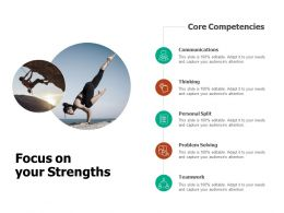 Focus On Your Strengths Teamwork Ppt Powerpoint Presentation Outline Tips
