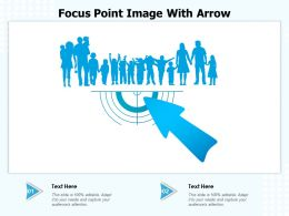 Focus Point Image With Arrow