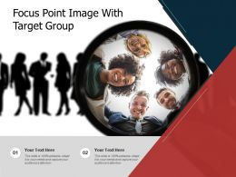 Focus Point Image With Target Group