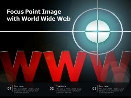 Focus Point Image With World Wide Web