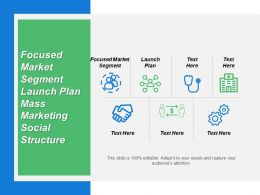 Focused Market Segment Launch Plan Mass Marketing Social Structure
