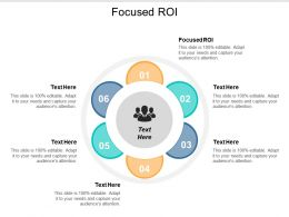 Focused ROI Ppt Powerpoint Presentation Slides Templates Cpb