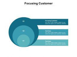 Focusing Customer Ppt Powerpoint Presentation Styles Deck Cpb