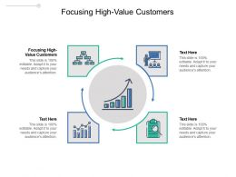 Focusing High Value Customers Ppt Powerpoint Presentation File Introduction Cpb