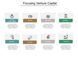 Focusing Venture Capital Ppt Powerpoint Presentation Inspiration Outline Cpb