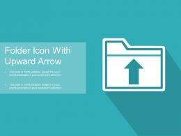 Folder Icon With Upward Arrow