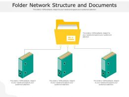 Folder Network Structure And Documents
