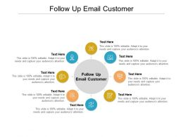 Follow Up Email Customer Ppt Powerpoint Presentation Outline Visual Aids Cpb