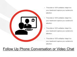 Follow Up Phone Conversation Or Video Chat