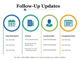 Follow Up Updates Ppt Infographics Graphic Tips