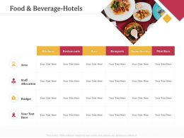 Food And Beverage Hotels Mini Bars M3238 Ppt Powerpoint Presentation Styles Inspiration
