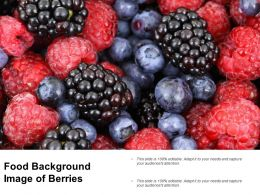Food Background Image Of Berries