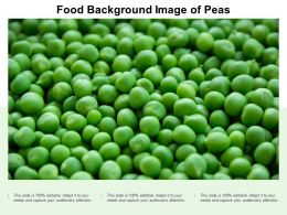 Food Background Image Of Peas