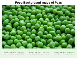 Food Background Image Of Peas