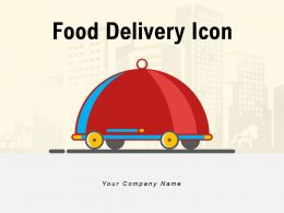 Food Delivery Icon Safety Customer Service Industry Application Transporting