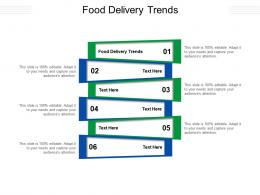 Food Delivery Trends Ppt Powerpoint Presentation Infographic Template Show Cpb