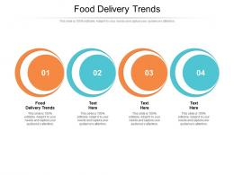 Food Delivery Trends Ppt Powerpoint Presentation Infographics Structure Cpb