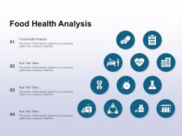 Food Health Analysis Ppt Powerpoint Presentation Show Elements