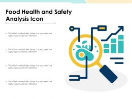 Food Health And Safety Analysis Icon
