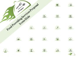 Food Providing Services Proposal Icons Slide Ppt Powerpoint Presentation Pictures