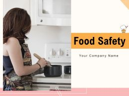 Food Safety Ingredients Consumer Analytics Temperature Consumption Measure