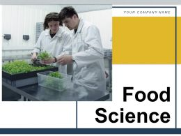 Food Science Agricultural Research Science Analysis Experiment Verification